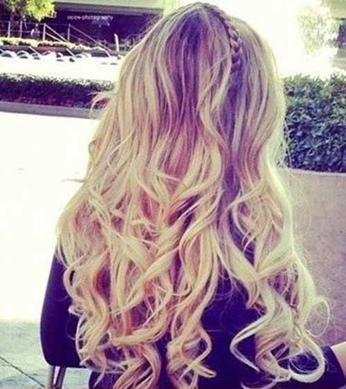 Blonde Long Curly Hair Styles