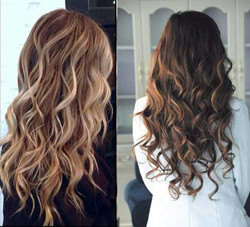 Lovely Long Hair Curly Styles
