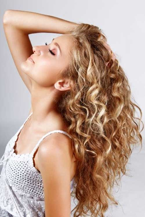 Curly Long Hair Perm