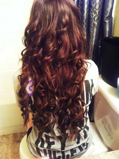 The Best Long Layered Curly Haircut