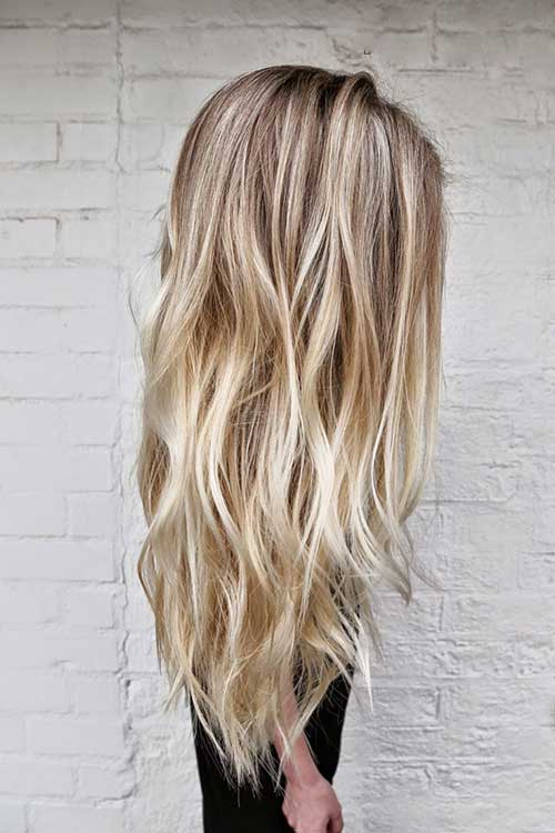 Cool Long Layered Hair Cut