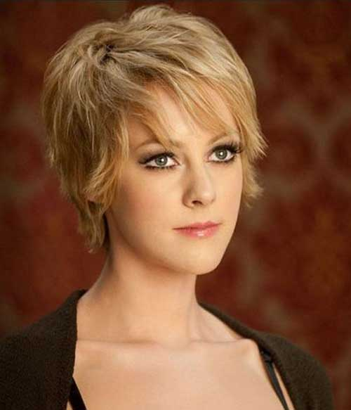Jena Malone Long Layered Pixie Haircut