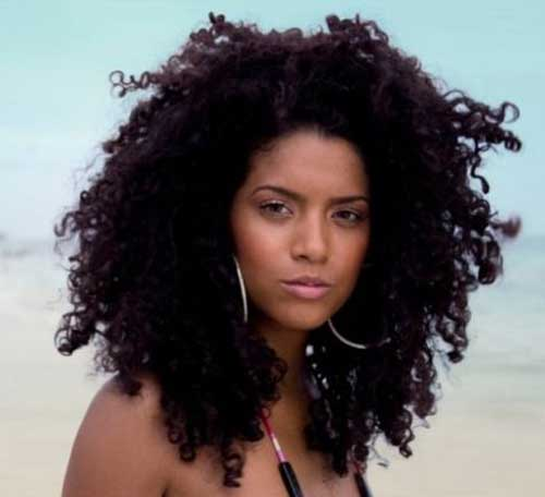Surprising 35 Long Layered Curly Hair Hairstyles Amp Haircuts 2016 2017 Hairstyle Inspiration Daily Dogsangcom