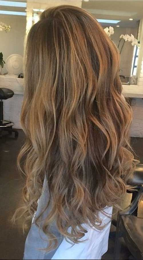 40 blonde and dark brown hair color ideas hairstyles haircuts long wavy curly hair with blonde dye pmusecretfo Image collections