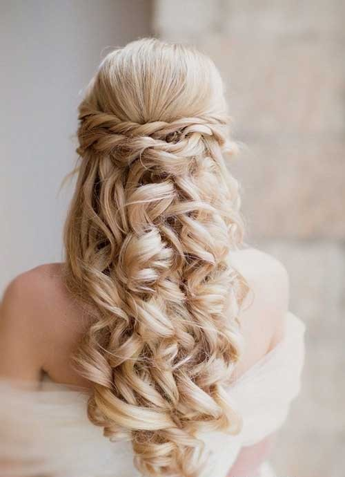 Mediterranean Bridal Hairstyle