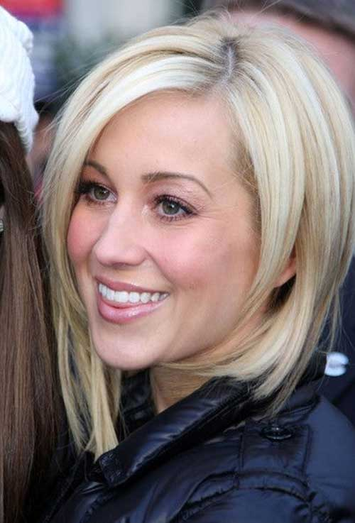 Medium Bob Hairstyles Side Bangs