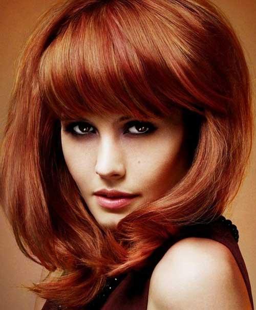 Wondrous Haircuts For Medium Thick Hair Hairstyles Amp Haircuts 2016 2017 Short Hairstyles Gunalazisus