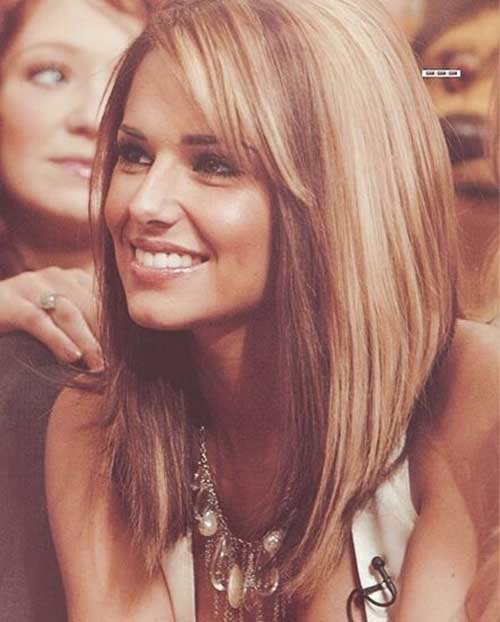 Long Bob Medium Lenght Layered Haircuts