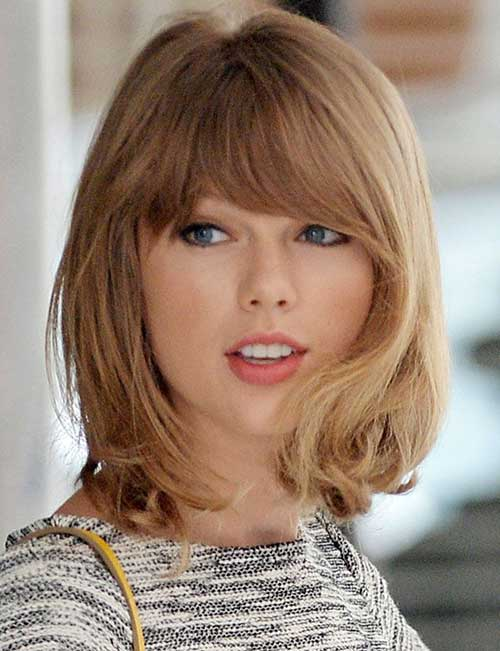 Medium Haircuts with Bangs 2014 - 2015 | Hairstyles ...