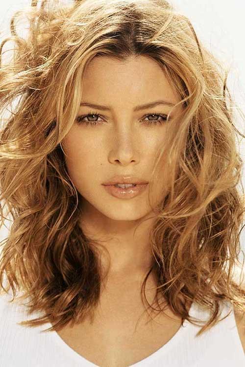 Magnificent 35 Medium Length Curly Hair Styles Hairstyles Amp Haircuts 2016 2017 Short Hairstyles Gunalazisus