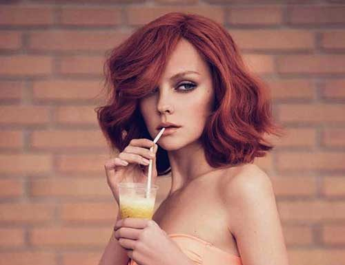 Ginger Medium Thick Hairstyles