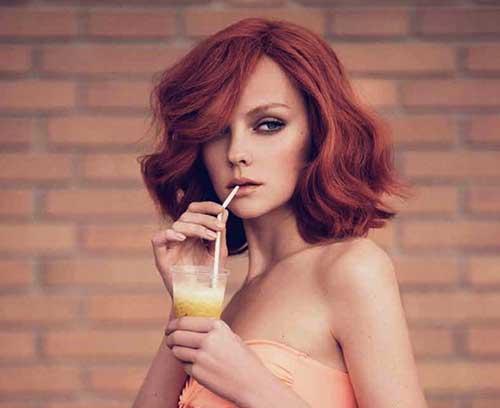 Awesome 15 Thick Medium Length Hairstyles Hairstyles Amp Haircuts 2016 2017 Short Hairstyles Gunalazisus
