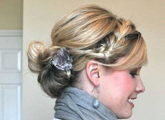 Best Medium Updo Hairstyles