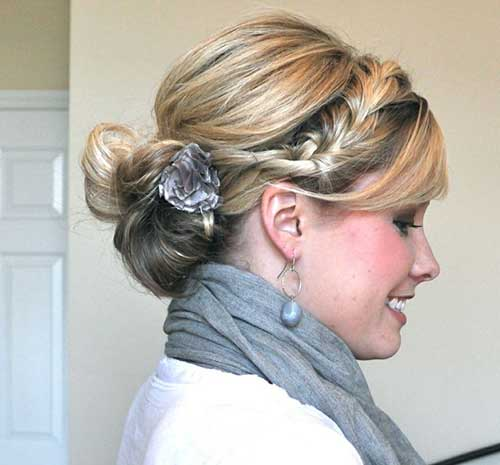 Best hair updos for medium length hair hairstyles haircuts best medium updo hairstyles pmusecretfo Image collections