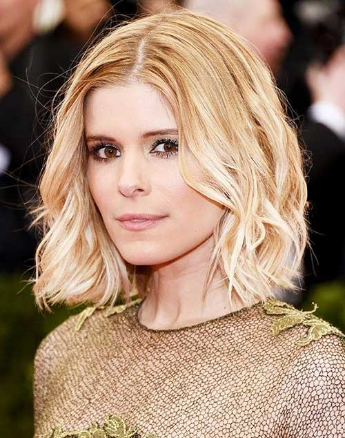 Kate Mara Medium Wavy Hairstyles 2015