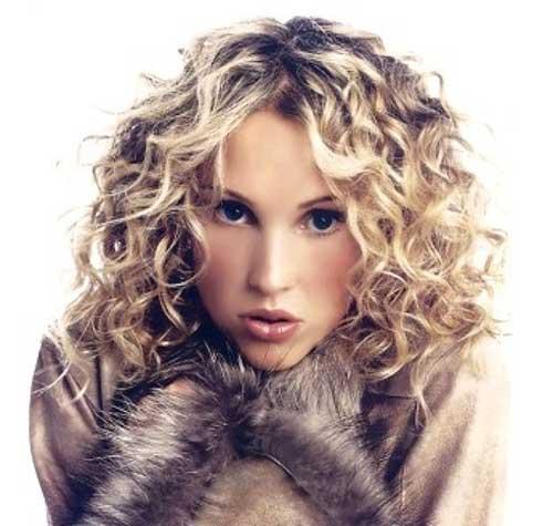 Admirable 35 Medium Length Curly Hair Styles Hairstyles Amp Haircuts 2016 2017 Hairstyles For Women Draintrainus