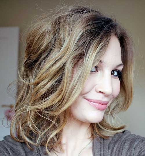 Latest Ombre Hair with Short Layers