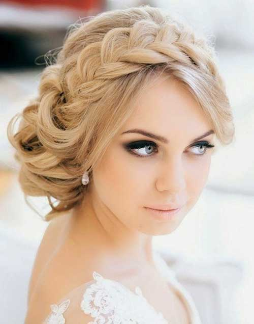 Perfect Braided Headband Wedding Hairstyle