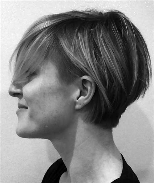Long Pixie Cut Undercut