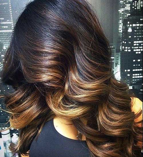 40 blonde and dark brown hair color ideas hairstyles haircuts pretty kinky curly hair with highlight colors pmusecretfo Image collections