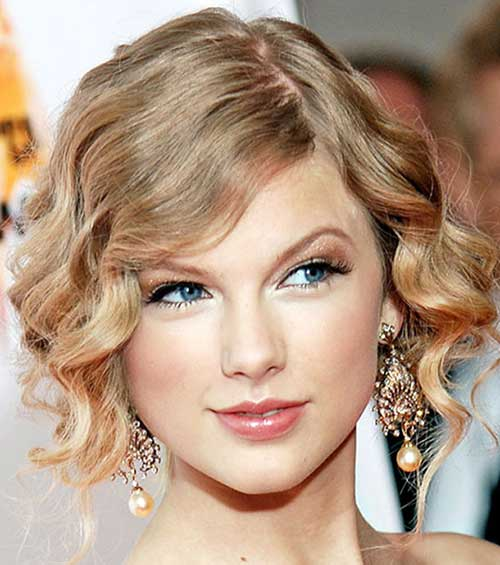 Taylor Swift Prom Styles for Short Hair