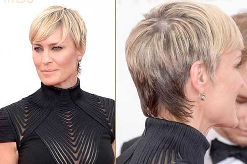 Robin Wright Pixie Haircuts
