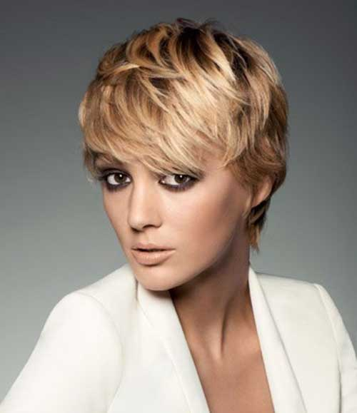 Best Shinny Blonde Pixie Cuts