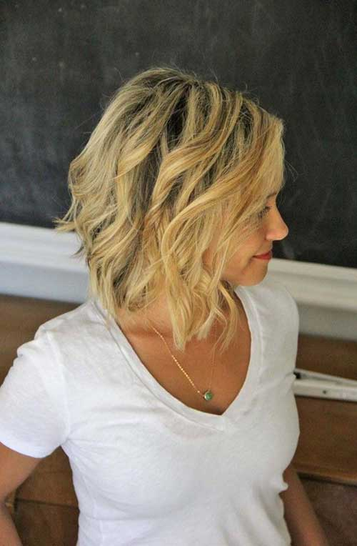Short Hairstyles Beachy Waves