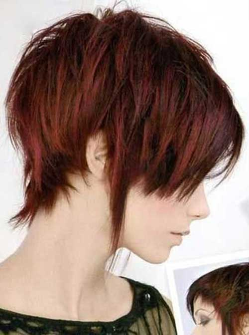 Short Layered Hair Color Ideas
