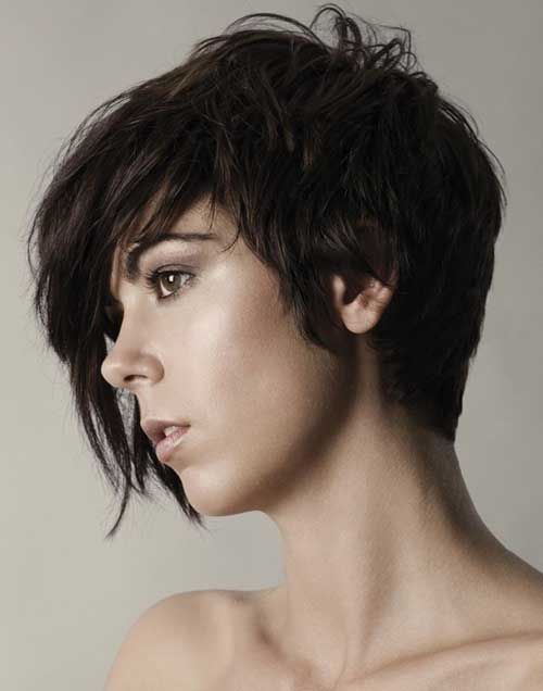 Short Layered Hair Girl Styles