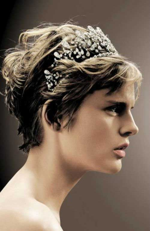 30 Wedding Hair Styles For Short Hair | Hairstyles U0026 Haircuts 2016 - 2017