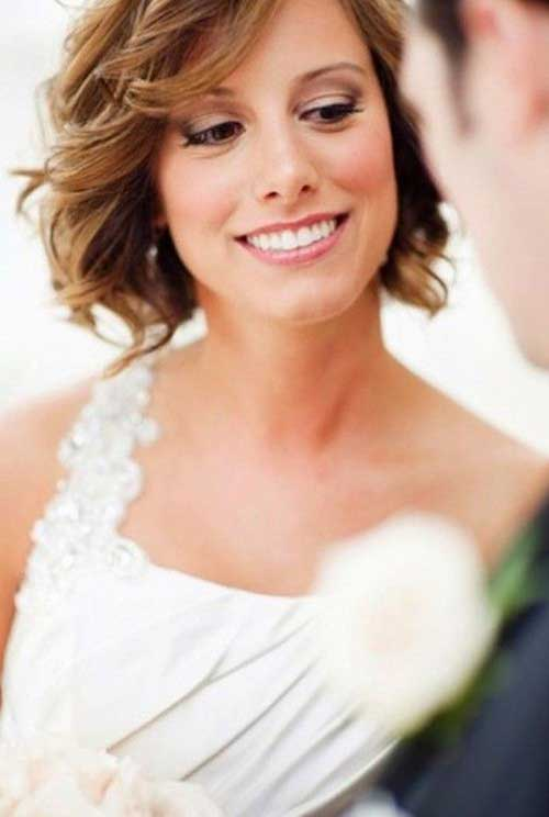 Cute Short Hair Wedding Inspiration