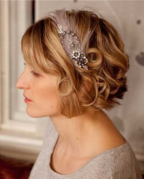 30 Wedding Hair Styles for Short Hair | Hairstyles ...