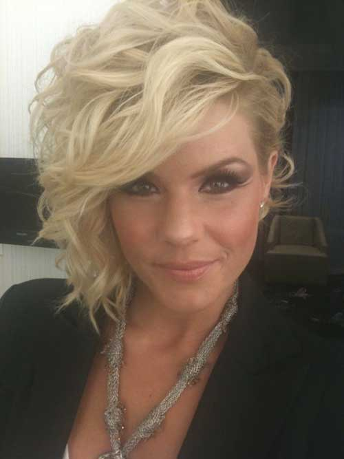 Kimberly Caldwell Short Hair for Prom