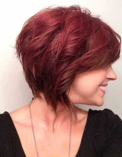 Short Haircut Red Hairstyles for Women