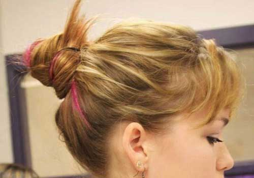 Best Short Medium Hair Updos