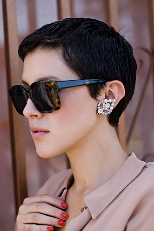 Trendy Short Pixie Cut