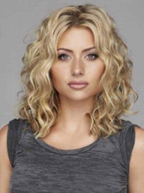 Amazing 35 Medium Length Curly Hair Styles Hairstyles Amp Haircuts 2016 2017 Hairstyles For Women Draintrainus