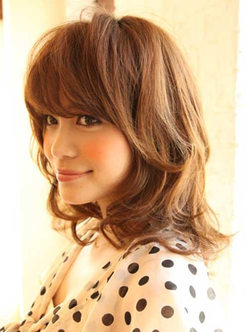 Best Shoulder Length Hair with Bangs
