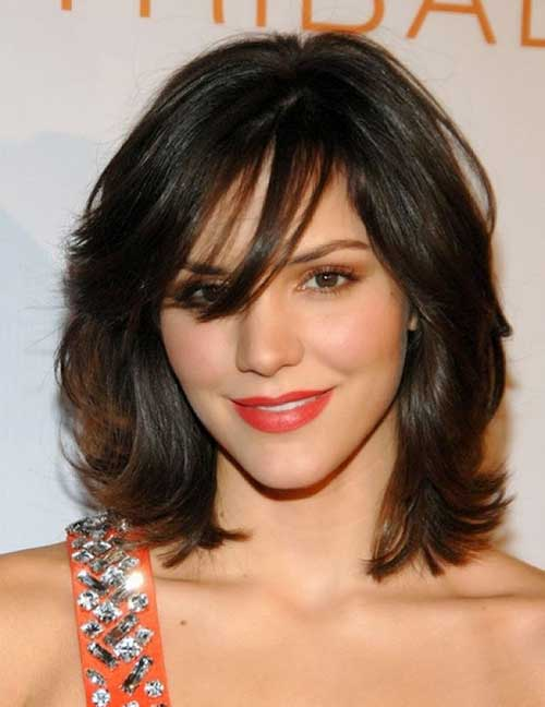 Chic Side Part Hairstyles for Thick Wavy Hair