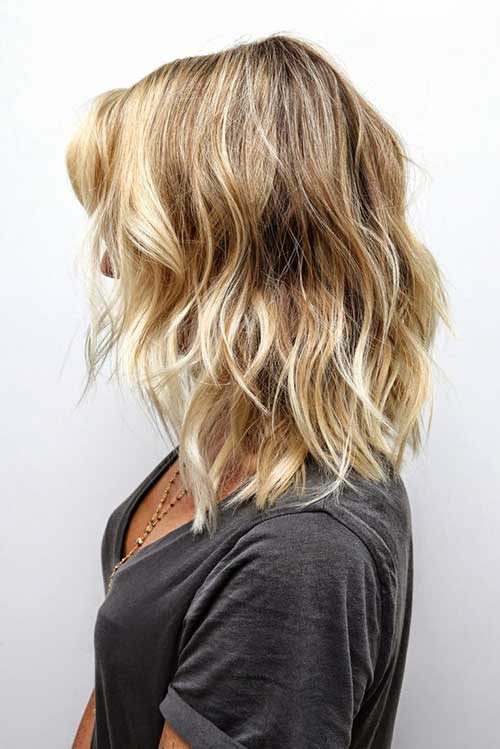 Soft Wavy Sassy Hair for Medium Cut