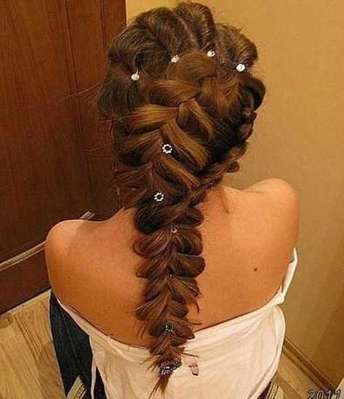 Special Braided Long Hairstyles