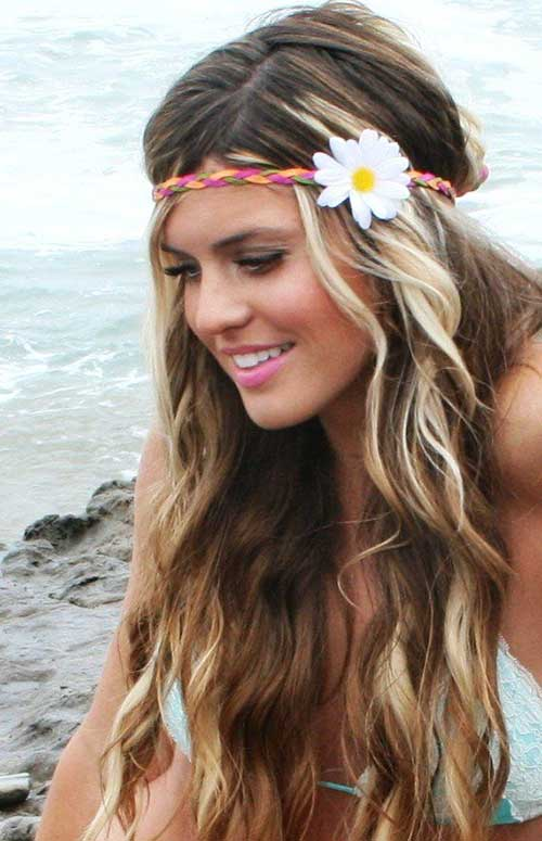 Beach Blonde Hair Summer Hairdos