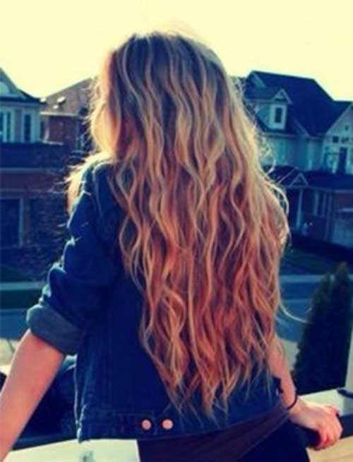Beach Waves Summer Hairstyles for Long Hair