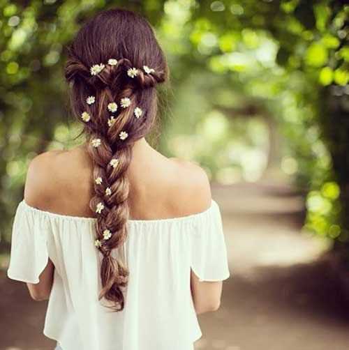 Summer Perfect Ponytail Long Hairstyle 2014-2015