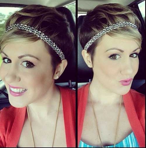 The Pixie Haircut with Headband