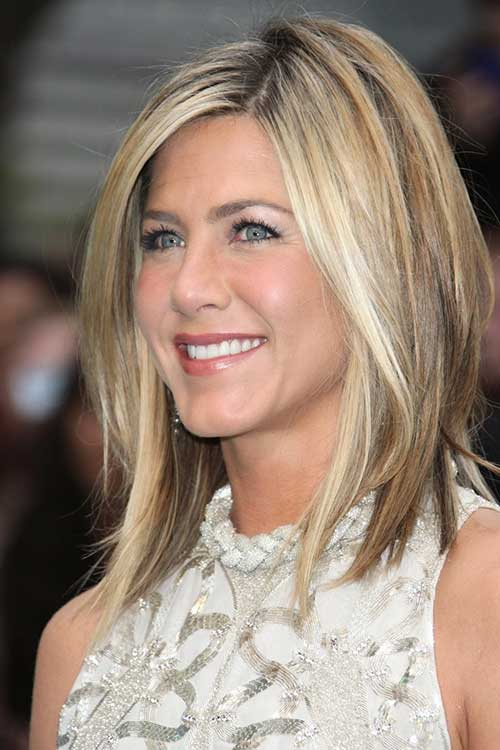 Thin Blonde Long Bob Hairstyles