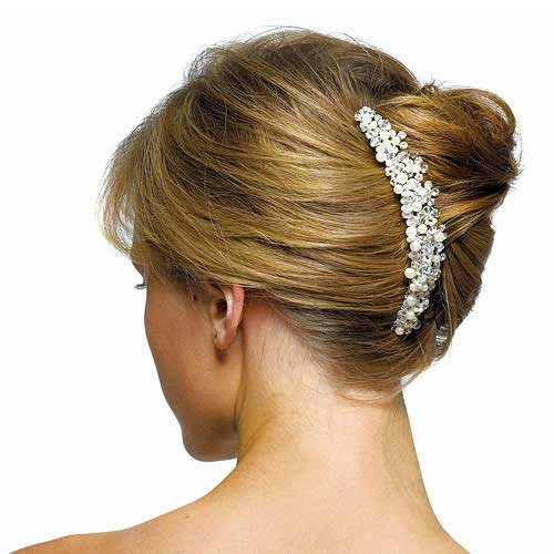 Updos for Long Hair with Comb