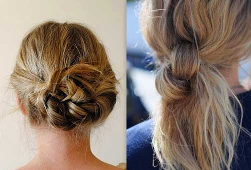 Best Hair Updos For Medium Length Hair