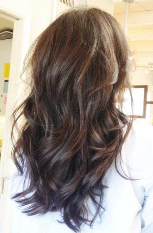 Best V Cut Layered Hair